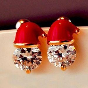 Exquisite Glittering Round Faux Diamond Boutique